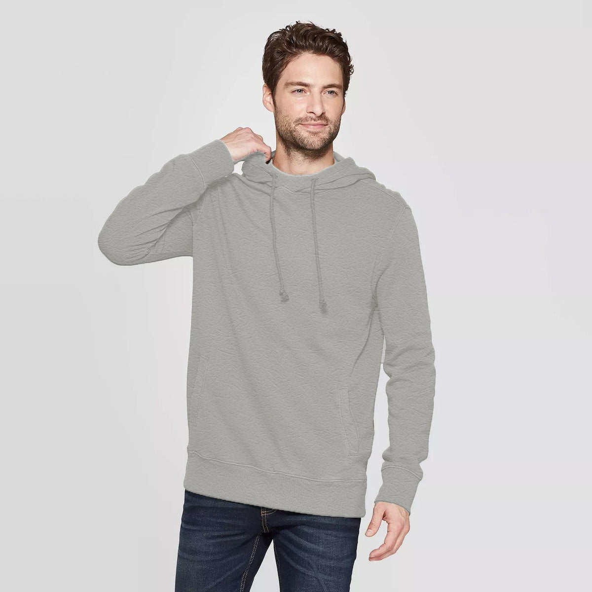 CR Men's 10-16A20 Terry Pullover Hoodie Men's Pullover Hoodie SRK Heather Grey XS