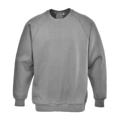 PRT Roma B300 B Quality Sweat Shirt B Quality Image Heather Grey L
