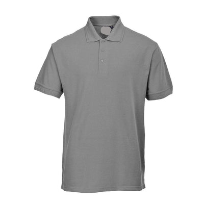 PRT Vonboni Short Sleeve Polo Shirt Men's Polo Shirt Image Heather Grey S