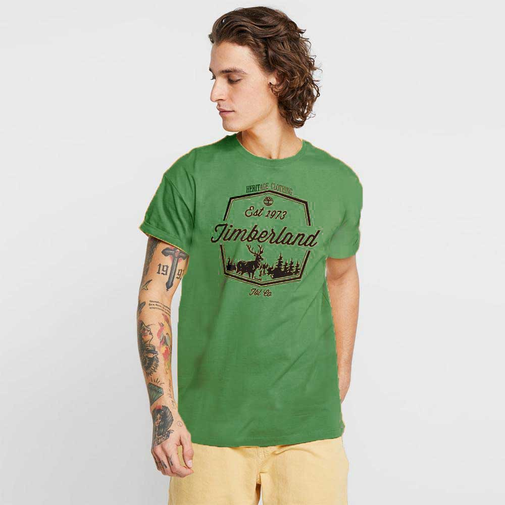 Men's TRD 1973 Forest Stag Tee Shirt Men's Tee Shirt Fiza Olive XS