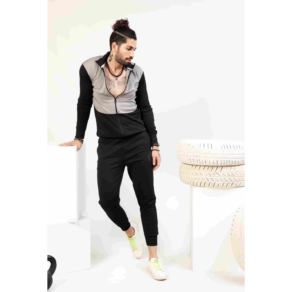 Grey Dribble TrackSuit Men's Tracksuit FitKit