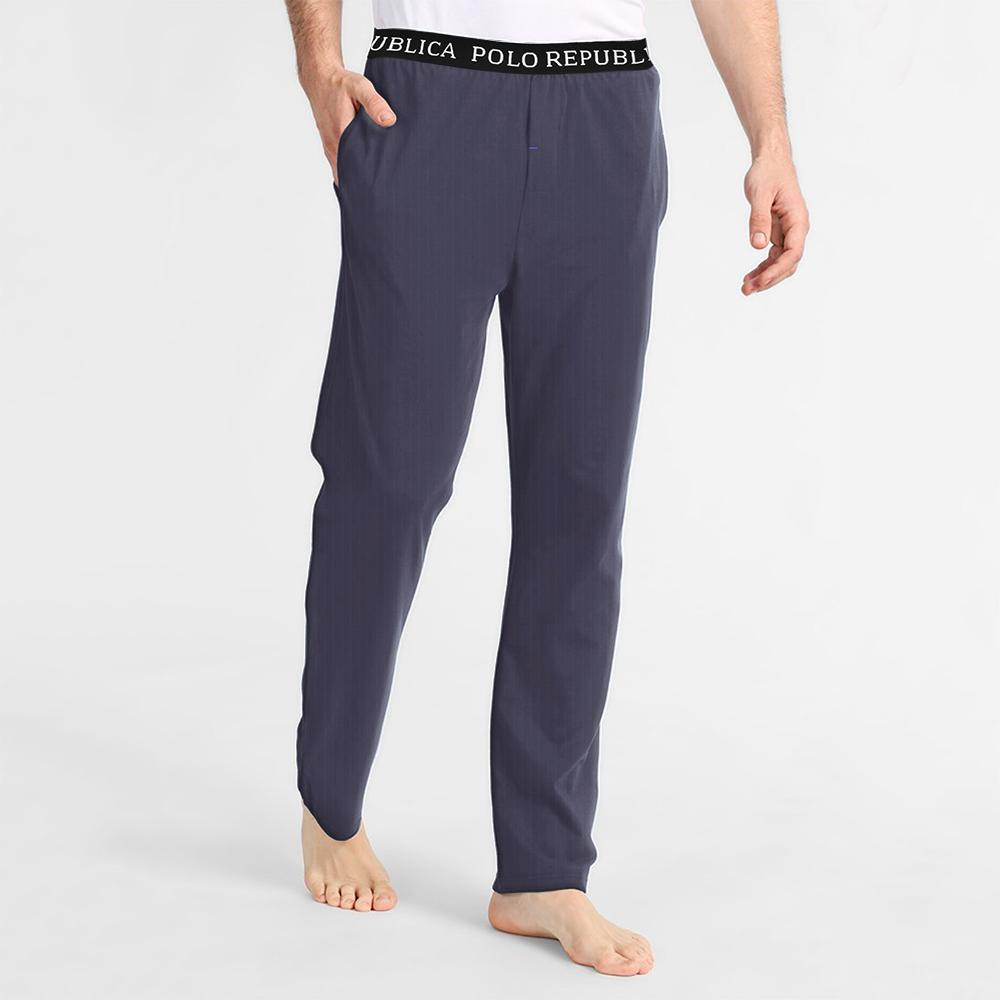 Polo Republica Breezy Thermal Lounge Pants Men's Sleep Wear Polo Republica Jeans Marl S