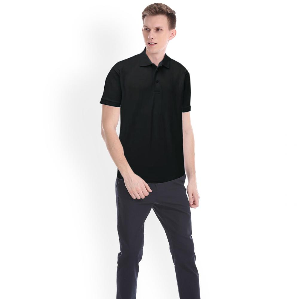 Men's Platic Short Sleeve with Minor Fault Polo Republica Shirt Minor Fault Image Black XS