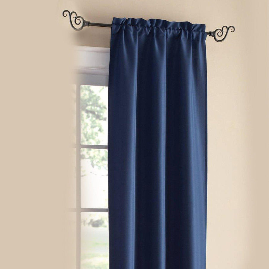 CANNON Blackout Romanic One Piece Lined Curtain