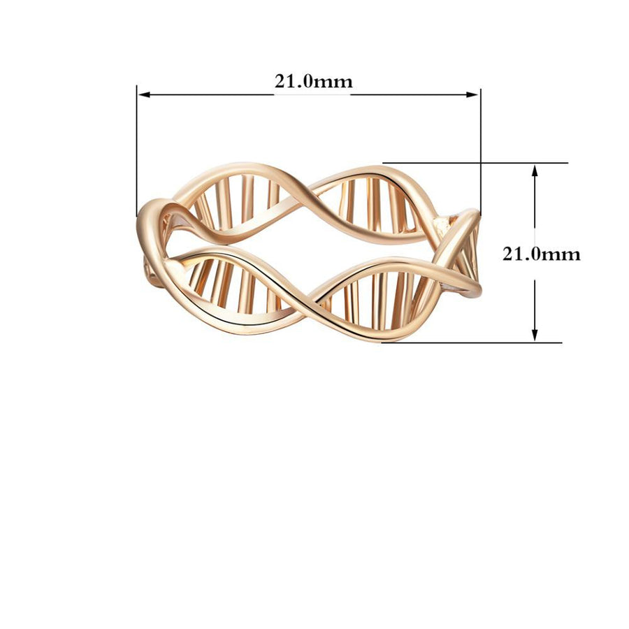 Infinity DNA Chemistry Finger Ring
