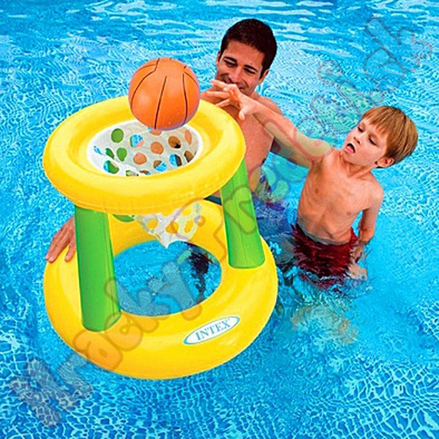INTEX Floating Hoops Basket Ball Game - ExportLeftovers.com