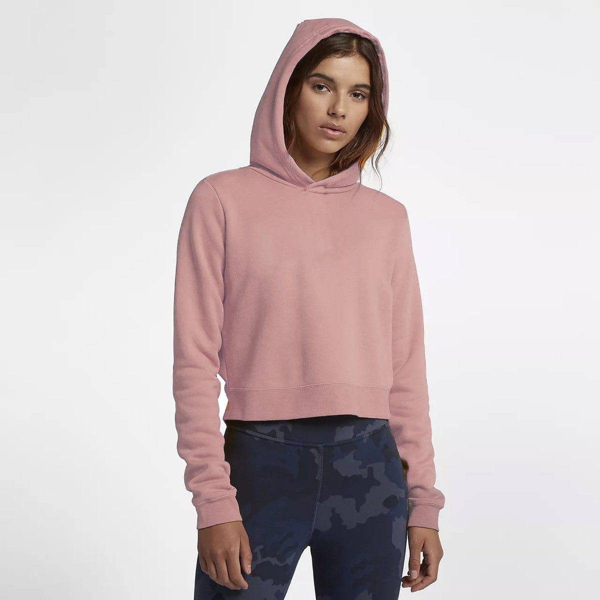 Tally Weijl Women's Minor Fault Fleece Cropped Hoodie Minor Fault SRK Light Pink 2XS