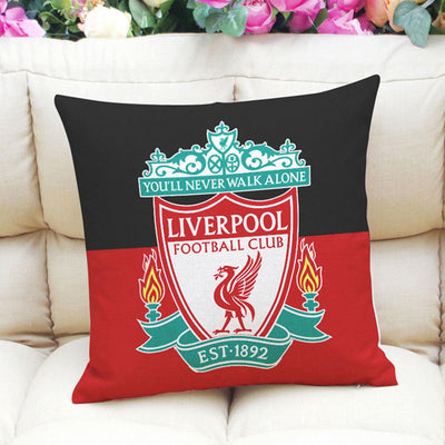 Football Club Composite Linen Cushion Cover Cushion Cover Sunshine China Liverpool