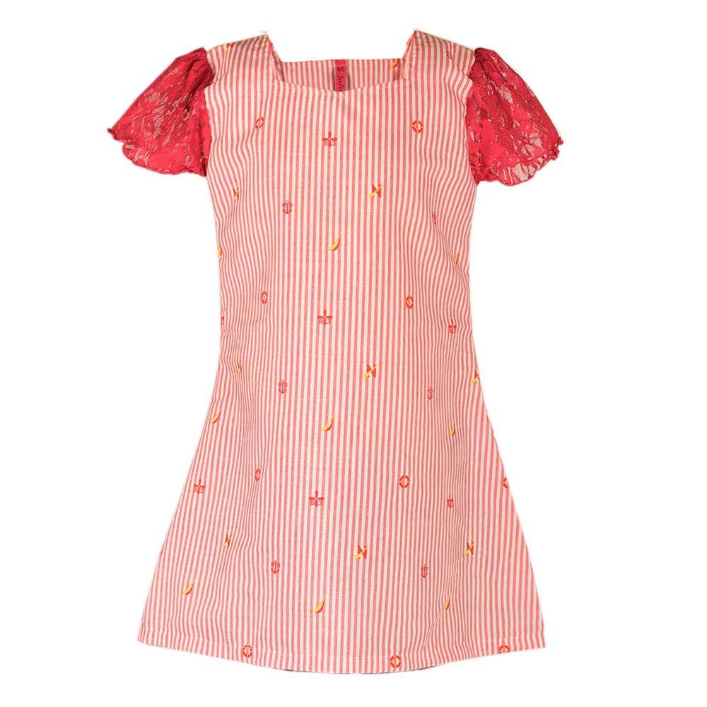 Safina Kid's Milwaukee Short Sleeve Frock Girl's Frock Bohotique 2-3 Years
