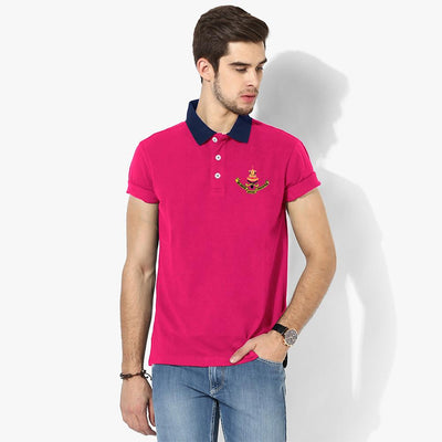 Polo Republica Selangor Polo Shirt Men's Polo Shirt Polo Republica Magenta Navy S