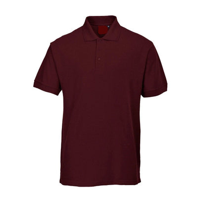 PRT Vonboni Short Sleeve Polo Shirt Men's Polo Shirt Image Maroon S