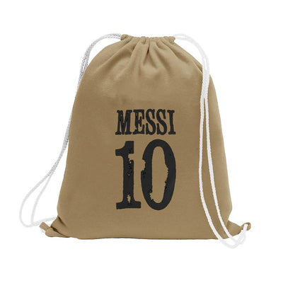 Polo Republica Messi Lovers Drawstring Bag Drawstring Bag Polo Republica Mud Black