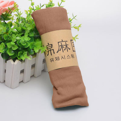 Alsleben Women Beautiful Silky Scarf Women's Accessories Sunshine China Mud