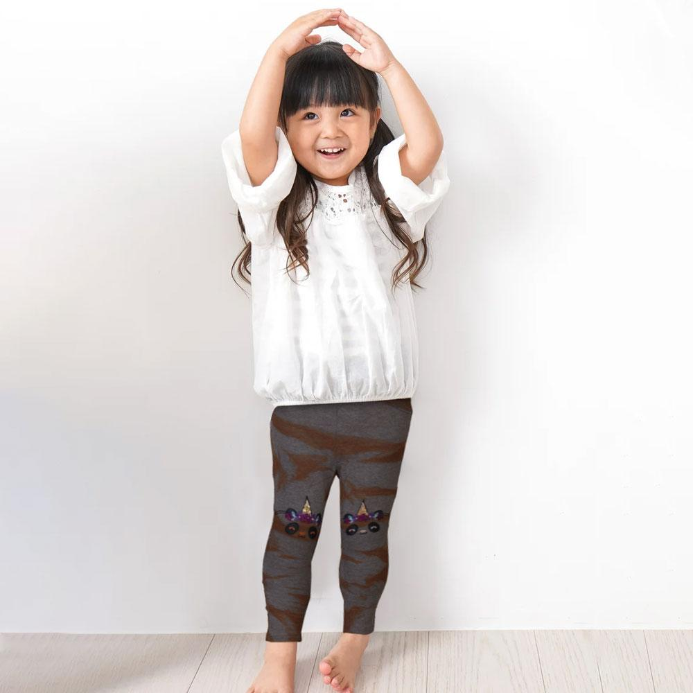 Girls Embroidered The Jagger Terry Trousers Girl's Trousers Fiza