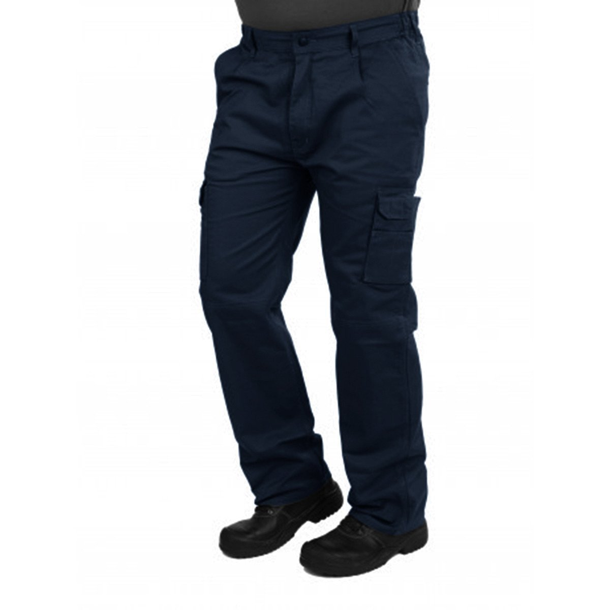 HSKE Eilenburg Six Pocket Cargo Trousers Men's Cargo Pants Image Navy 26 30