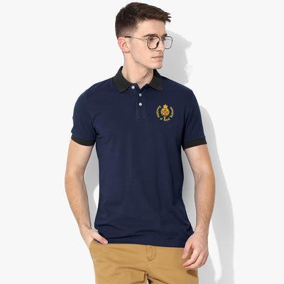 Polo Republica Royal Yachtsmen Polo Shirt Men's Polo Shirt Polo Republica Navy Black S