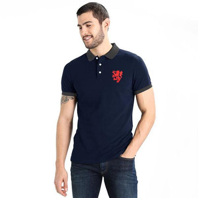 Polo Republica Leo Polo Shirt Men's Polo Shirt Polo Republica Navy Black S