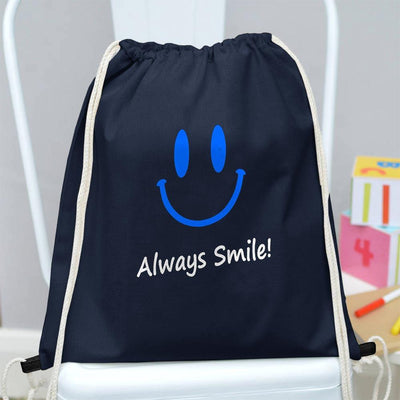 Polo Republica Always Smile Drawstring Bag Drawstring Bag Polo Republica Navy Blue