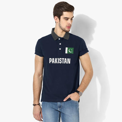 Polo Republica Pak Flag Polo Shirt Men's Polo Shirt Polo Republica Navy Graphite S