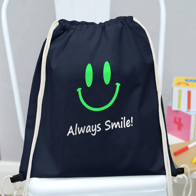 Polo Republica Always Smile Drawstring Bag Drawstring Bag Polo Republica Navy Green