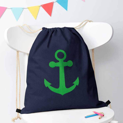 Polo Republica Ship Langar Drawstring Bag Drawstring Bag Polo Republica Navy Green