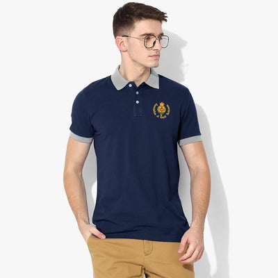 Polo Republica Royal Yachtsmen Polo Shirt Men's Polo Shirt Polo Republica Navy Heather Grey S