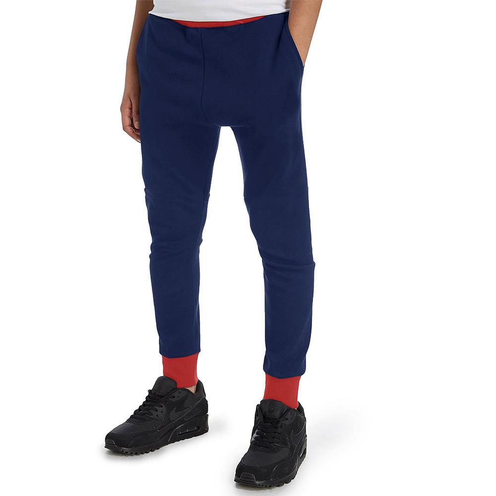 Polo Republica Kids Dosber Classic Sweat Pants Boy's Sweat Pants Polo Republica Navy Red 4 Years