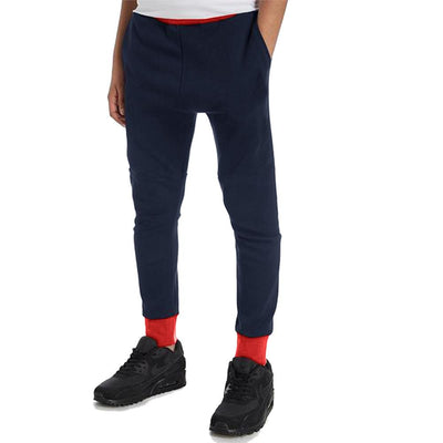 Polo Republica Kids Hoobsita Classic Sweat Pants Boy's Sweat Pants Polo Republica Navy Red 2 Years