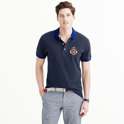 Polo Republica Players Society Short Sleeve Polo Shirt Men's Polo Shirt Polo Republica Navy Royal S