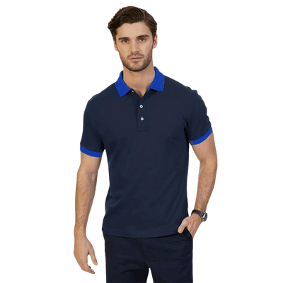 Polo Republica Robadelo Short Sleeve Polo Shirt Men's Polo Shirt Polo Republica Navy Royal XL