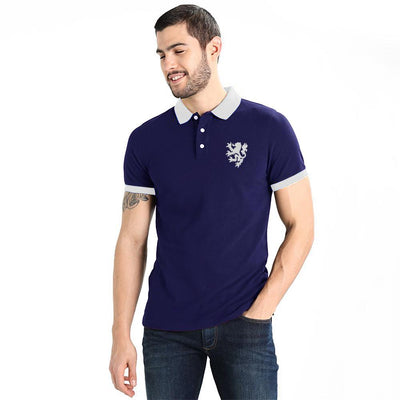 Polo Republica Leo Polo Shirt Men's Polo Shirt Polo Republica Navy White L
