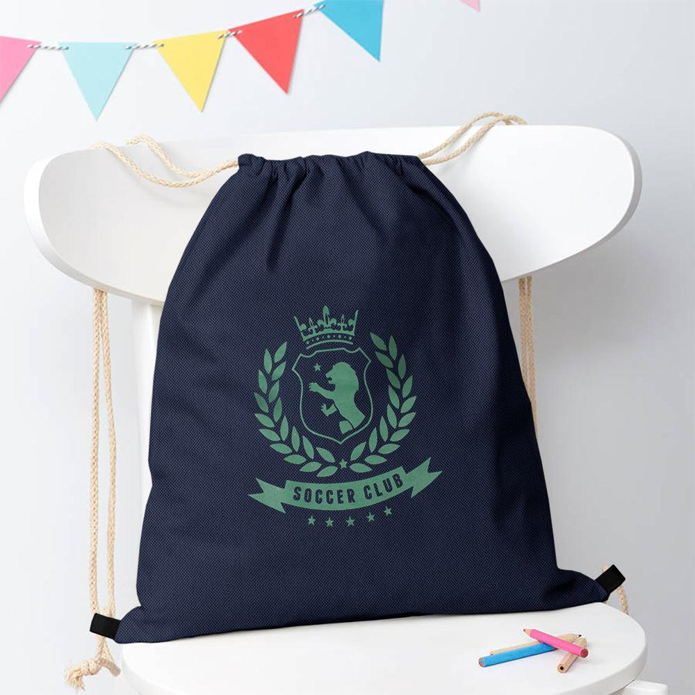 Polo Republica Soccer Club Drawstring Bag Drawstring Bag Polo Republica Navy Green