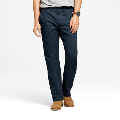 TES Moriya Slim Stretch Chino Pants Men's Chino NMA Navy 29 32