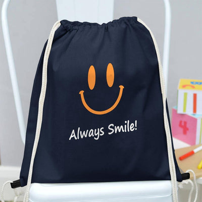 Polo Republica Always Smile Drawstring Bag Drawstring Bag Polo Republica Navy Yellow