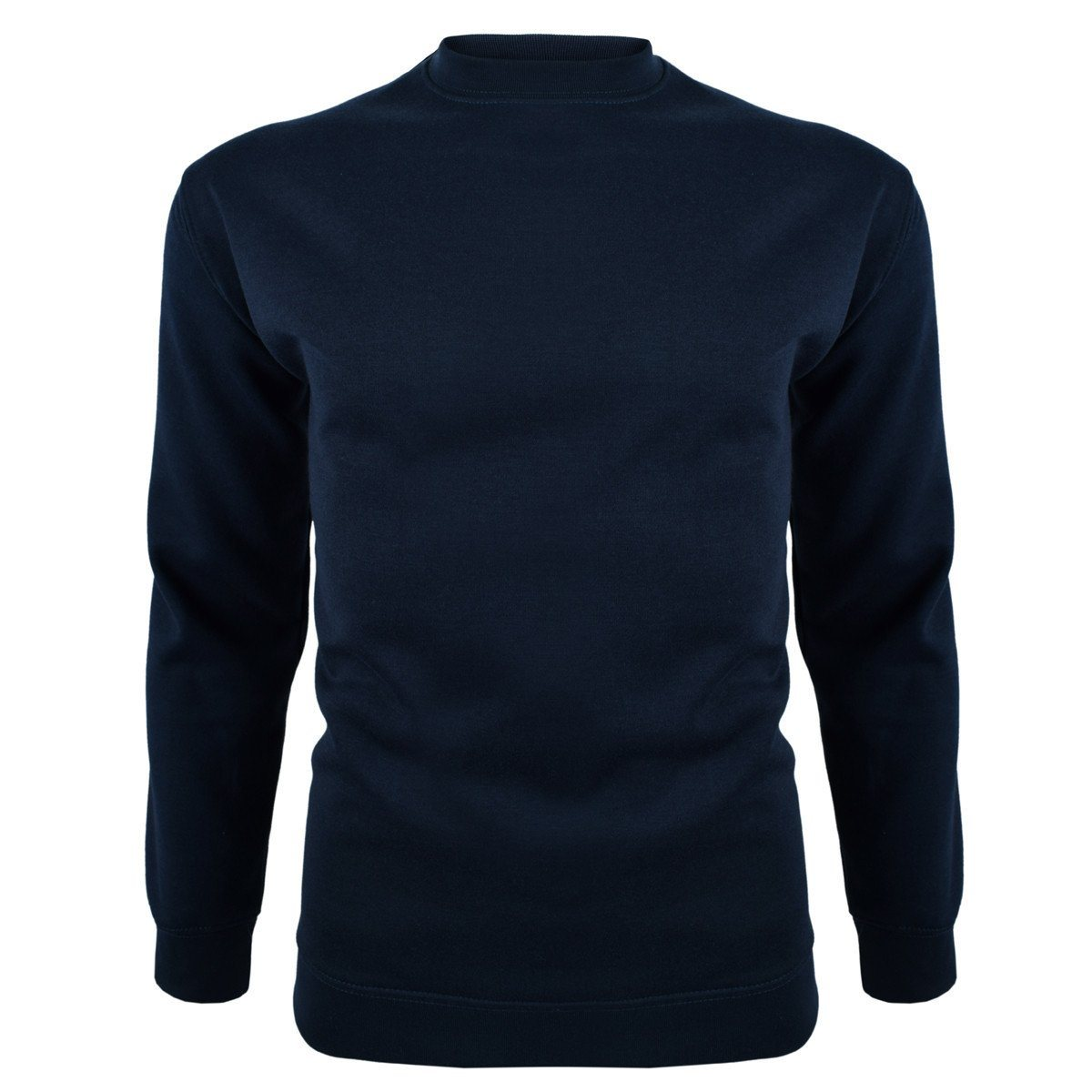 DCK Soontex Crew Neck Sweat Shirt Men's Sweat Shirt Image Navy 3XL