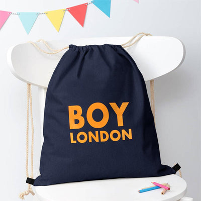 Polo Republica London Boy Drawstring Bag Drawstring Bag Polo Republica Navy Yellow