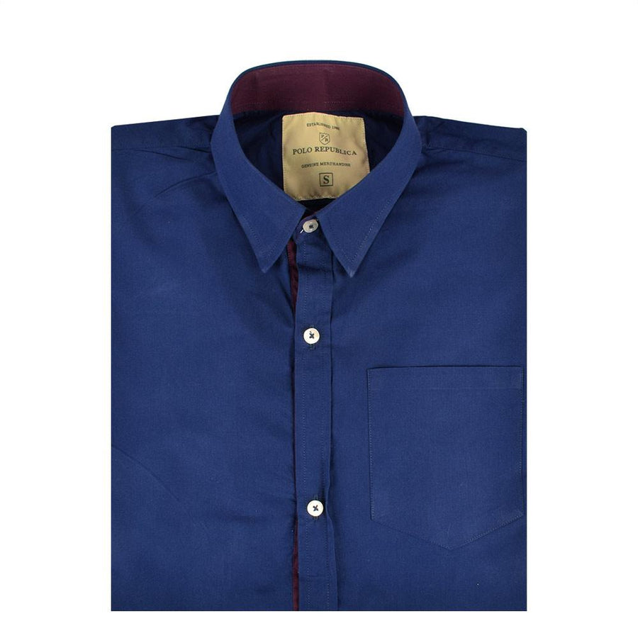 Polo Republica Dinairo Solid Color Casual Shirt