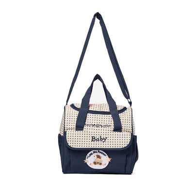 Super Light Love Forever Supporter Mother Messenger Bag Women's Accessories MB Traders Navy