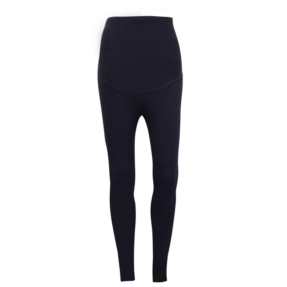 KA Women's Brielle Drop Waist Solid Color Leggings Women's Trousers SRK Navy XS