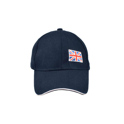 MB England Flag Embro P Cap Headwear MB Traders Navy