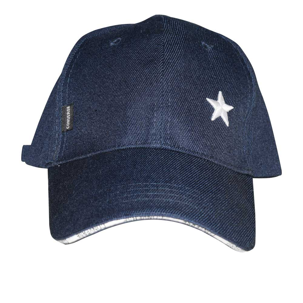 CNV Men's Star Embroidered Signature Logo P-Cap Headwear MB Traders Navy