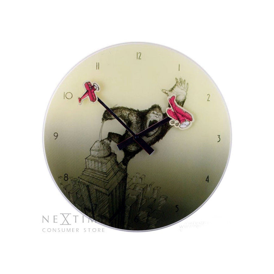NeXtime International ( 8633 ) Wall Clock - ExportLeftovers.com