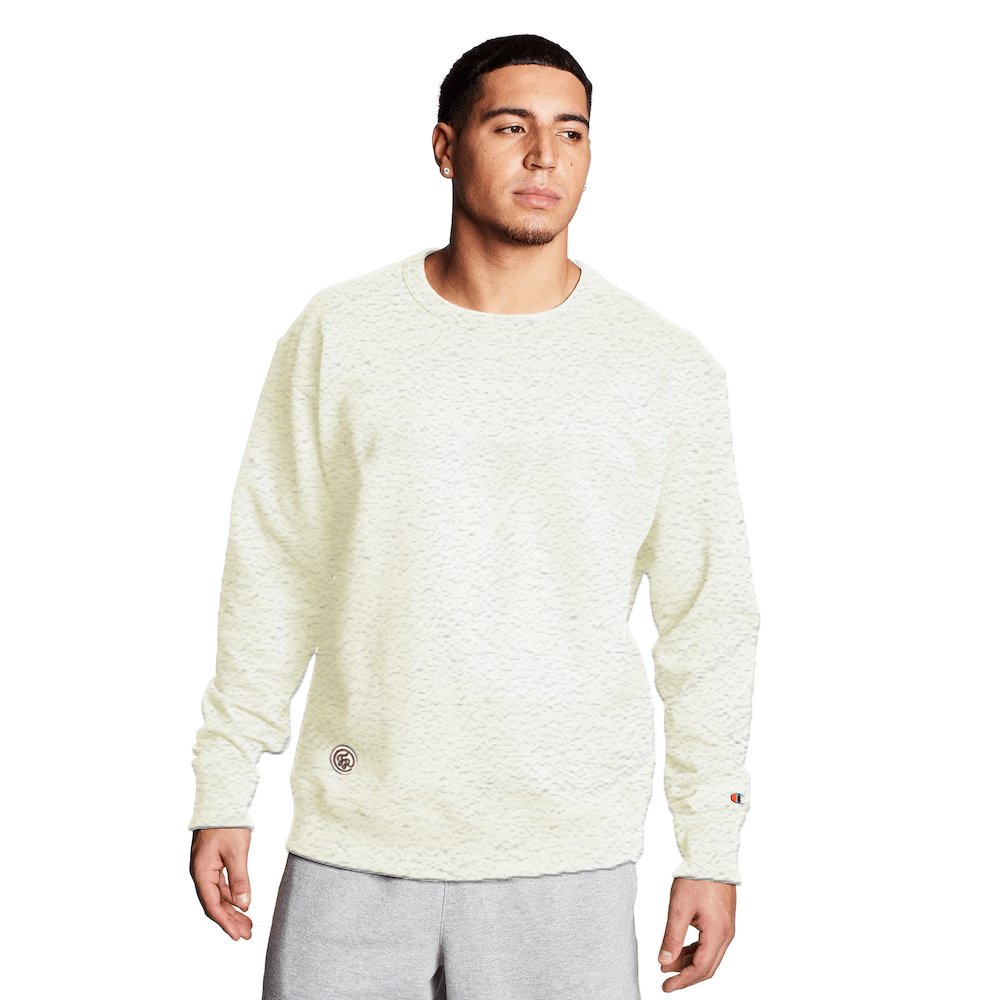 FR Cut Label Men's Placid Fleece Sweat Shirt Men's Sweat Shirt Fiza Oatmeal S