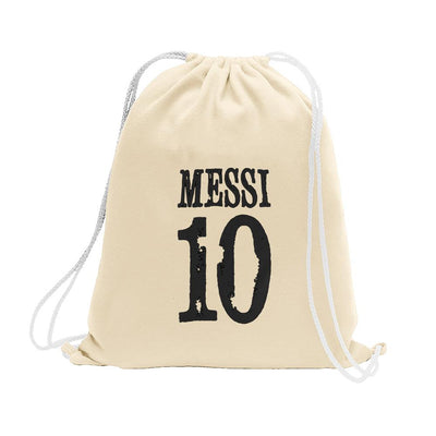 Polo Republica Messi Lovers Drawstring Bag Drawstring Bag Polo Republica Off White Black