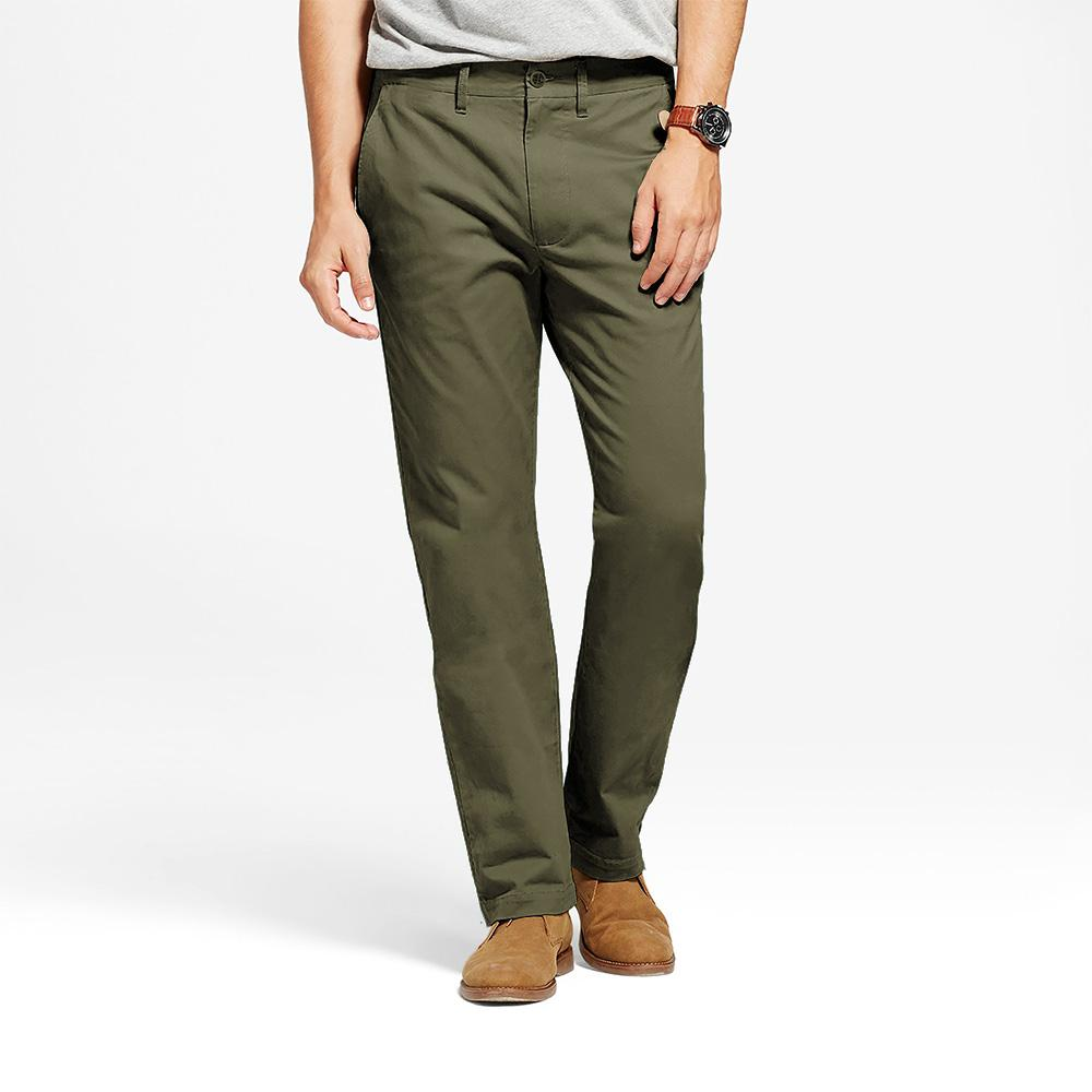TES Moriya Slim Stretch Chino Pants Men's Chino NMA Olive 29 32