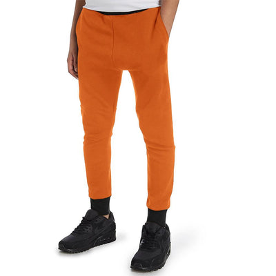 Polo Republica Kids Dosber Classic Sweat Pants Boy's Sweat Pants Polo Republica Orange Black 2 Years