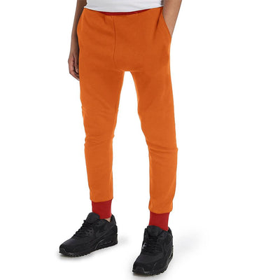 Polo Republica Kids Dosber Classic Sweat Pants Boy's Sweat Pants Polo Republica Orange Red 2 Years