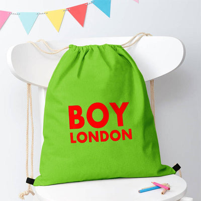 Polo Republica London Boy Drawstring Bag Drawstring Bag Polo Republica Parrot Red