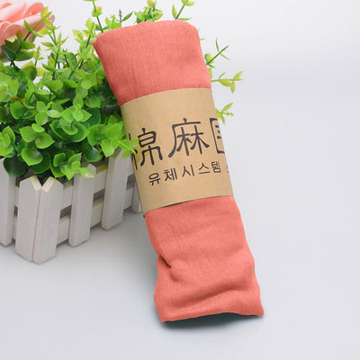 Alsleben Women Beautiful Silky Scarf Women's Accessories Sunshine China Peach