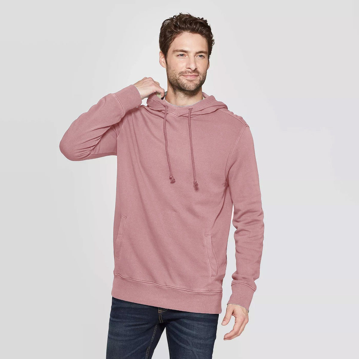 CR Men's 10-16A20 Terry Pullover Hoodie Men's Pullover Hoodie SRK Peach XS